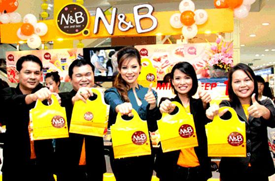 ธุรกิจแฟรนไชส์ N&B (natural bees) เอ็น แอนด์ บี
