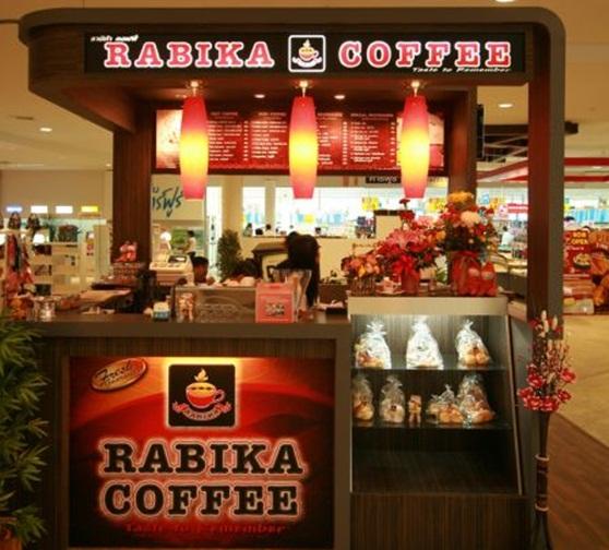 แฟรนไชส์กาแฟสด RABIKA COFFEE ราบิก้า คอฟฟี่