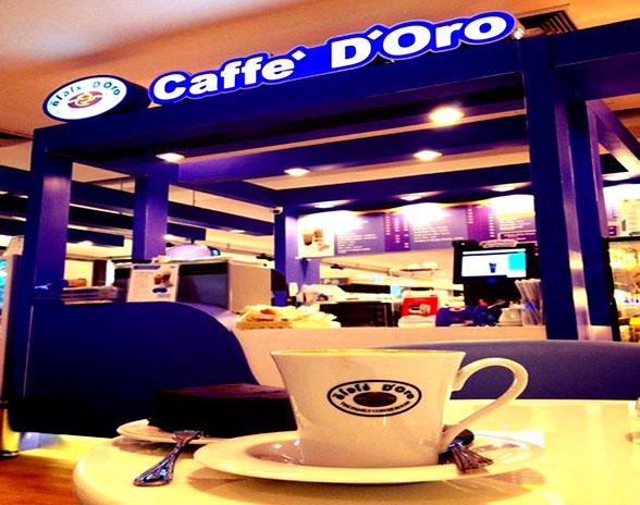 กาแฟไทยสไตล์อิตาเลี่ยน ร้านกาแฟ ดิโอโร่
