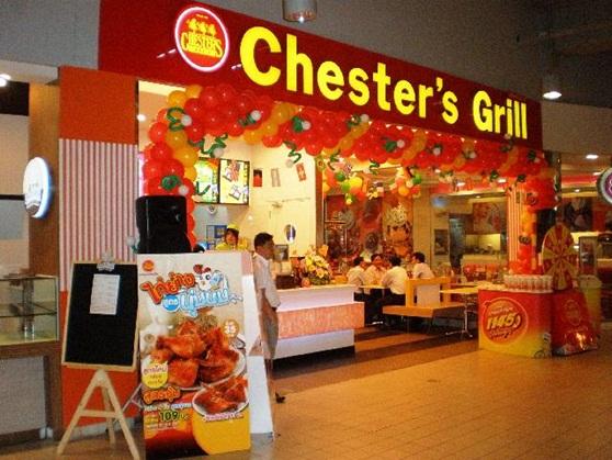 แฟรนไชส์ Chester's Grill เชสเตอร์กริลล์