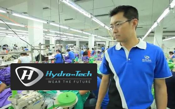 ธุรกิจผลิตเสื้อผ้า แบรนด์ Hydro Tech เสื้อนาโน เสื้อกันยุง